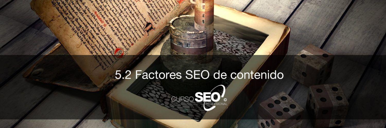 factores SEO de contenido