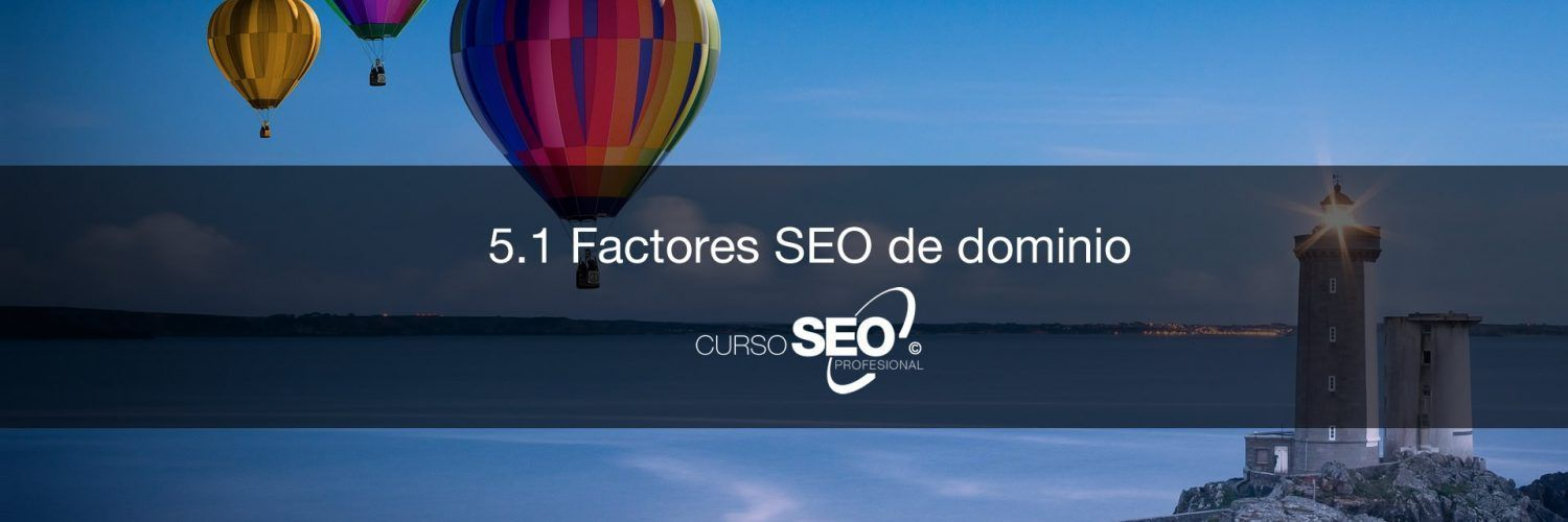 factores seo de dominio