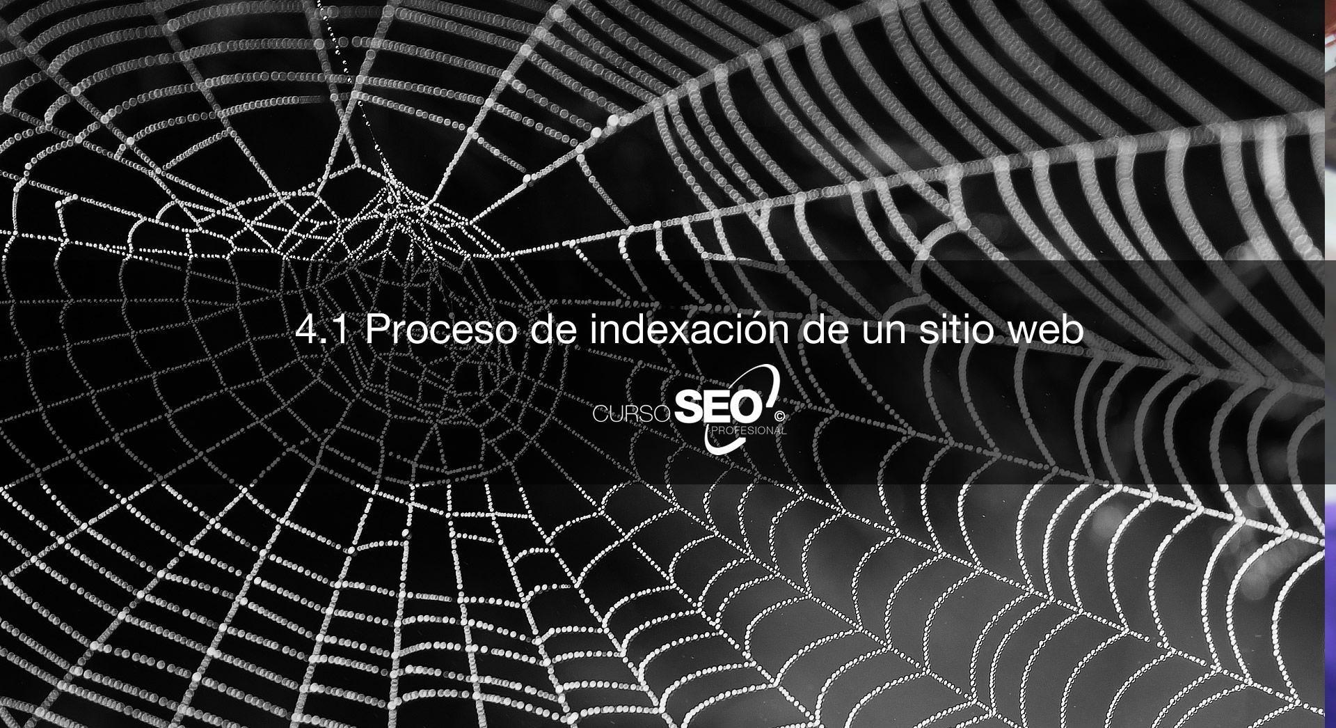 Proceso de indexación de una web
