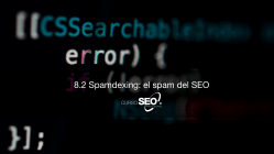 Spamdexing el spam del SEO
