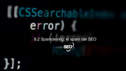 Spamdexing: el spam del SEO