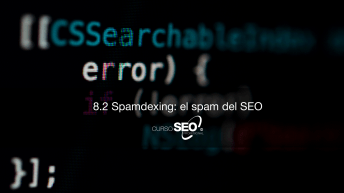 Spamdexing: el spam del SEO