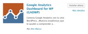 instalar aplicación google analytics