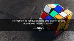 problemas seo en la publicación de una web