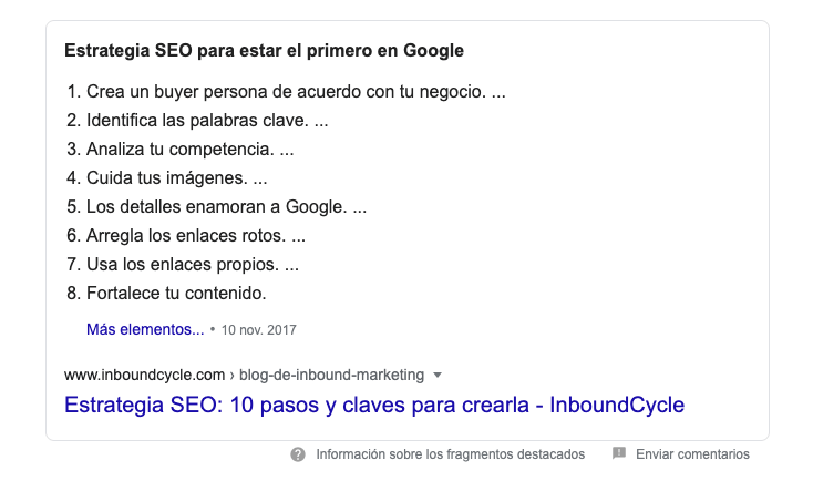 Rich snippet como hacer seo